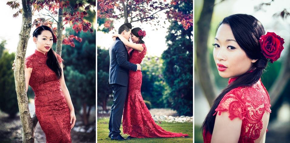 Fotograaf op een Chinees verlovingsfeest